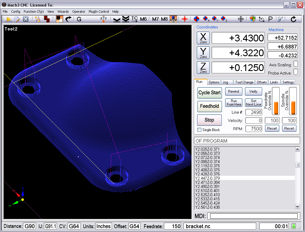 Mach3 cnc download.